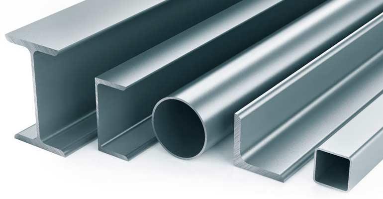 Gran variedad de productos de metal para construcción